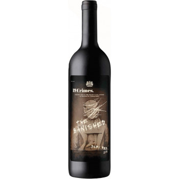 "Вино 19 Crimes, ""The Banished"" Dark Red, 2016"