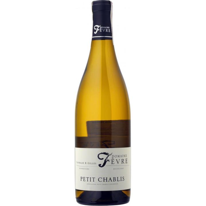Вино Domaine Nathalie & Gilles Fevre, Petit Chablis AOC, 2017