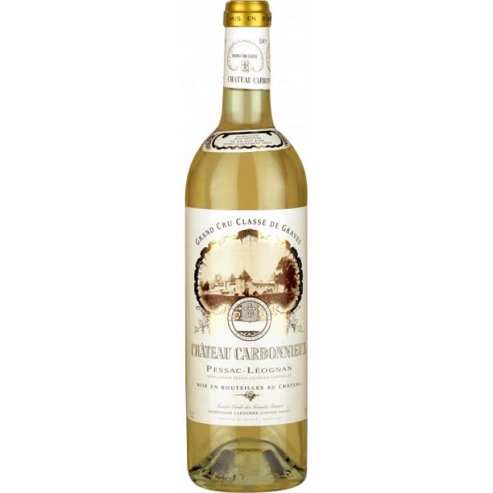 "Вино ""Chateau Carbonnieux"" Blanc, Pessac-Leognan AOC Grand Cru Classe de Graves, 2008"