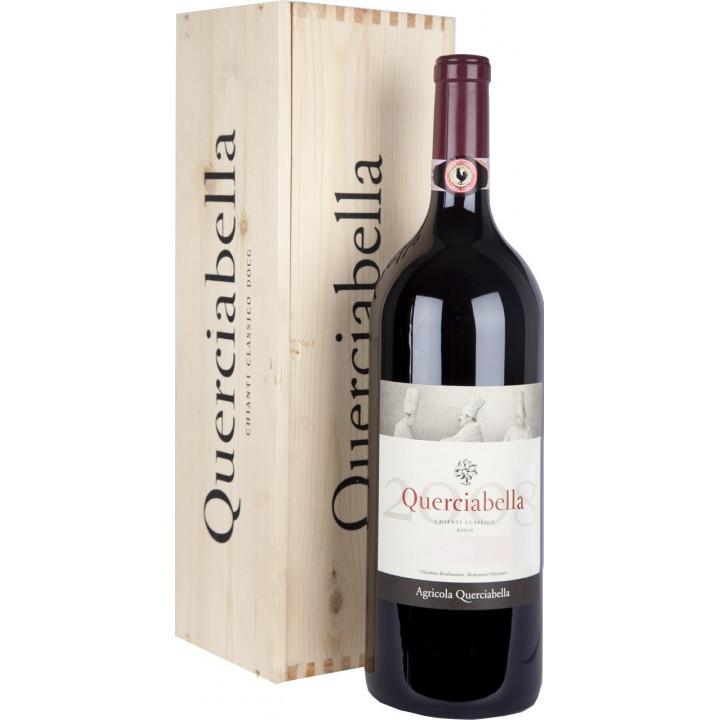 Вино Querciabella, Chianti Classico DOCG, 2014, wooden box, 3 л