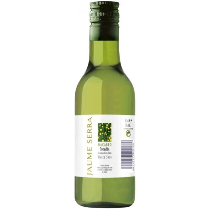 Вино Jaume Serra, Blanco Seco, Penedes DO, 2017, 187 мл