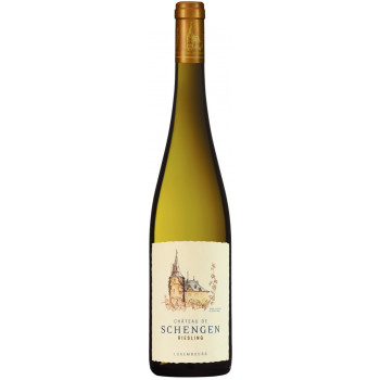 "Вино ""Chateau de Schengen"" Riesling, Moselle Luxembourgeoise AOP, 2016"