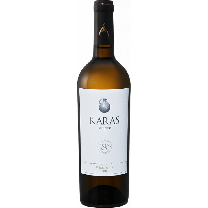 "Вино Armavir Vineyards, ""Karas"" Classic White, 2016"