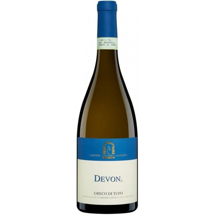"""Вино Antonio Caggiano, """"Devon"""" Greco di Tufo DOCG, 2012"""