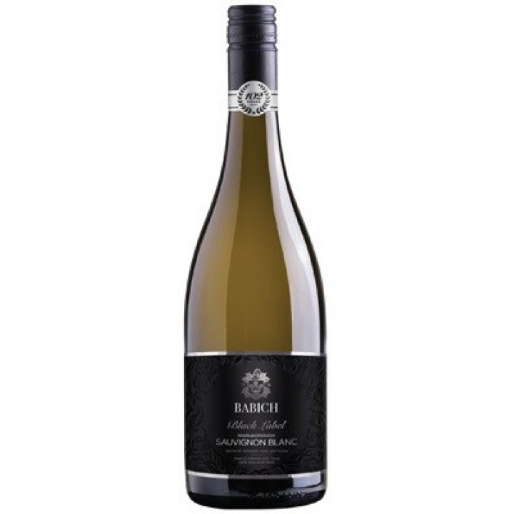 "Вино Babich Wines, ""Black Label"" Sauvignon Blanc, Marlborough, 2017"