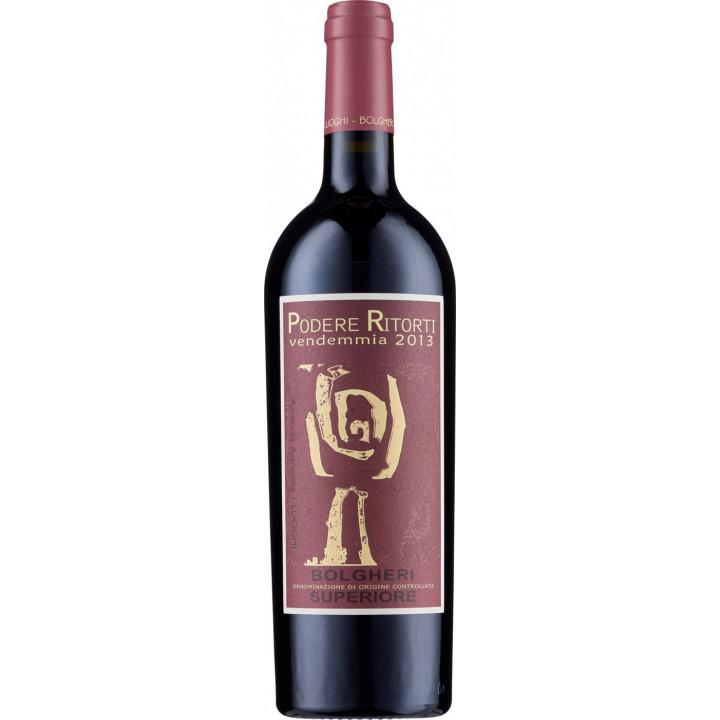 """Вино I Luoghi, """"Podere Ritorti"""", Bolgheri Superiore DOC, 2013"""