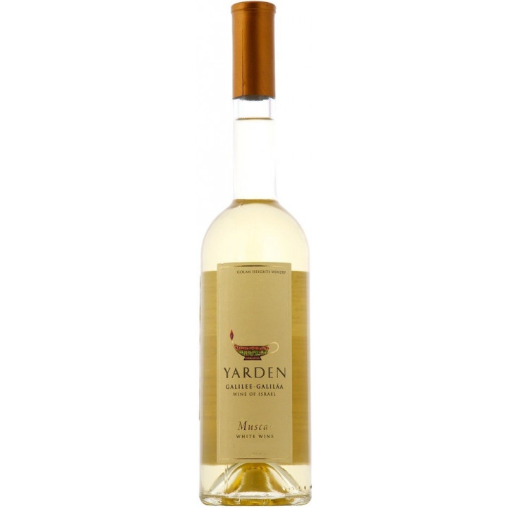 "Вино Golan Heights, ""Yarden"" Muscat, 2014, 0.5 л"
