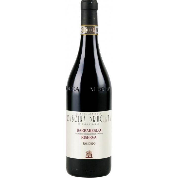 "Вино Cascina Bruciata, Barbaresco Riserva ""Rio Sordo"" DOCG, 2011"