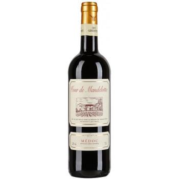 "Вино ""Tour de Mandelotte"" Medoc AOC"