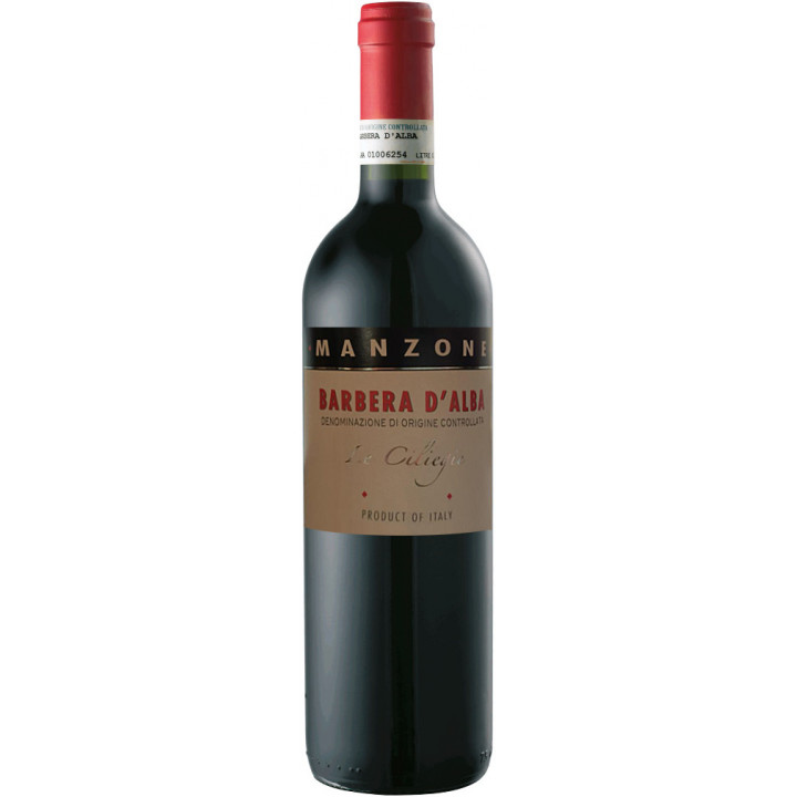 """Вино Manzone, """"Le Ciliegie"""" Barbera d'Alba DOC, 2013"""