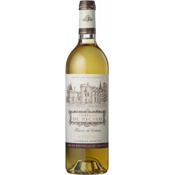"Вино ""Chateau de Ricaud"", Loupiac AOC, 2014"