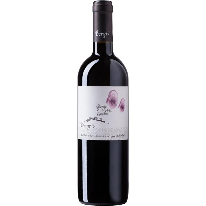 """Вино Giorgio Meletti Cavallari, """"Borgeri"""" Rosso, Bolgheri DOC, 2016"""