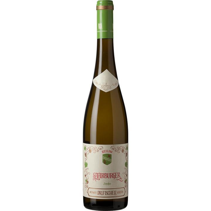"""Вино Weingut Dr. Fischer, """"Saarburger"""" Riesling Trocken, 2016"""