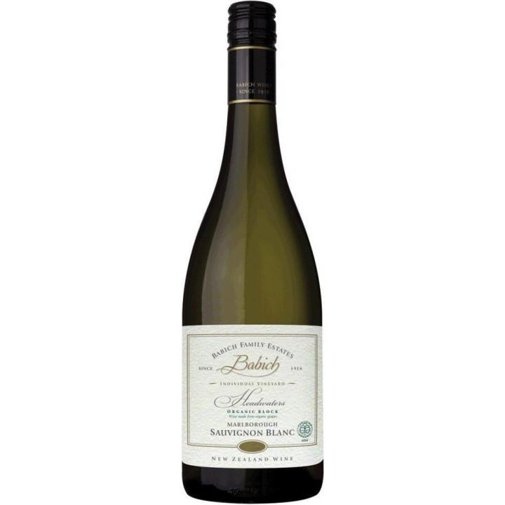 "Вино Babich Wines, ""Family Estates"" Headwaters Organic Sauvignon Blanc, 2017"