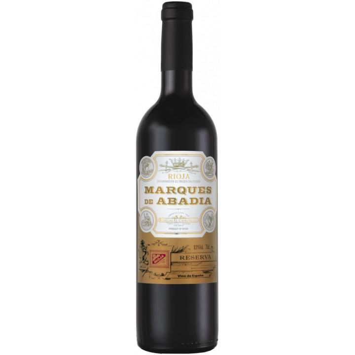 """Вино Bodegas El Cidacos, """"Marques de Abadia"""" Reserva, Rioja DOC, 2013"""
