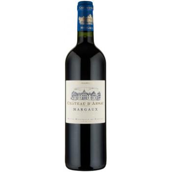 Вино Chateau d'Arsac, Cru Bourgeois Margaux AOC, 2008