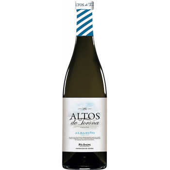 "Вино ""Altos de Torona"" Albarino, Rias Baixas DO, 2017"